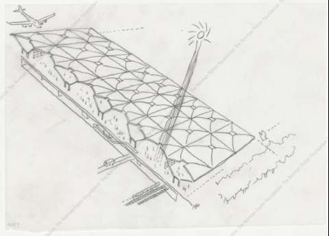 [Concept Design Sketch. Axonometric view]